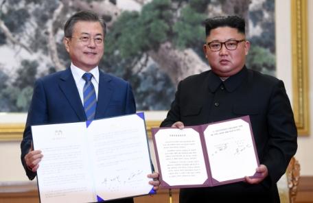 (1보) 文대통령, 남북 평양공동선언ㆍ군사합의서 비준