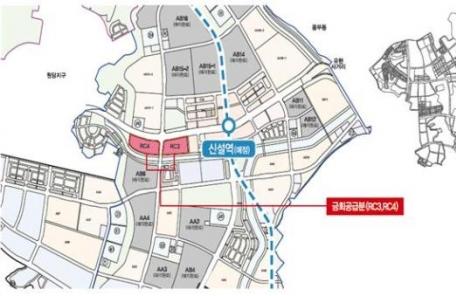 인천 검단신도시 공동주택용지 207대 1 경쟁률 기록