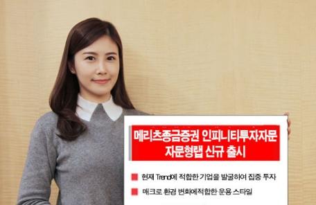 메리츠종금증권, '인피니티 자문형랩' 24일 출시
