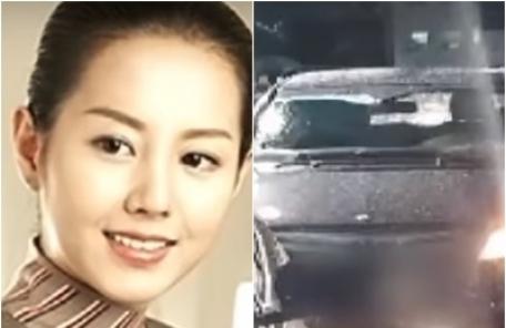 """박채경 음주운전 블랙박스 보니…""""몸 가누지 못해"""" 만취"""