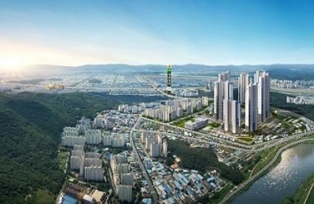 서재재구 첫 인공지능 아파트, '메가시티 태왕아너스' 16일 공개