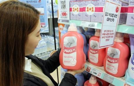 롯데마트, 애경산업 손잡고 세제 4종 출시