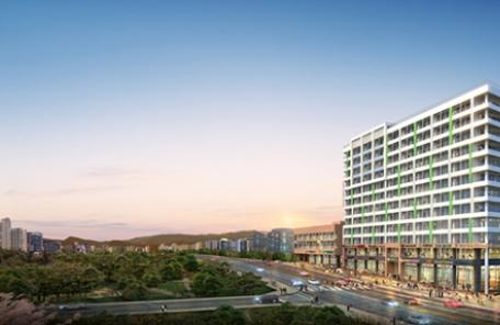 울산 우정혁신도시 중심 입지에 지식산업센터 및 상업시설 들어선다