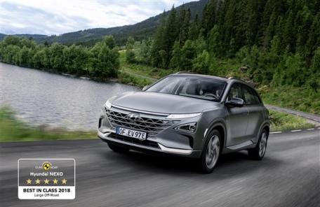 현대차 수소전기차 넥쏘, 유럽서 가장 안전한 SUV에 선정-copy(o)1