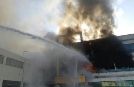 오산,자동차 부품 공장에서 화재  70여명 대피