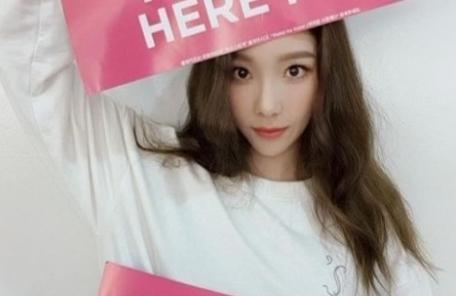 """태연, 마닐라 공연중 사고에 """"미안하고 고마워요"""""""