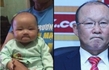 박항서 감독 손자인줄…베트남서 화제인 아기 얼굴