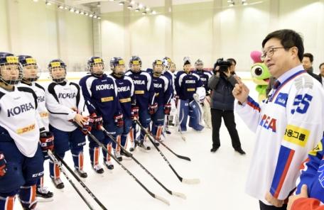 염태영 수원시장, 평창올림픽 꿈과 열정 이어간다