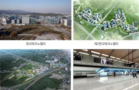 '자족도시 판교' 부동산 시장에 불황은 없다