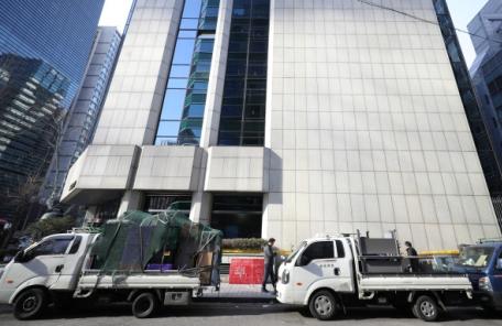 '붕괴 위험' 대종빌딩, 응급 보강공사 돌입…철거 여부 내년 3월께 결정