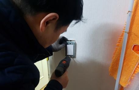 구로구 빗물펌프장 직원들 취약계층 안전지킴이로 나서