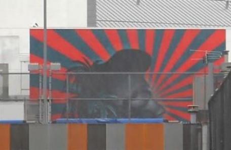 """美 LA 한인타운 학생들, """"욱일기 벽화 지워달라"""" 온라인 청원"""