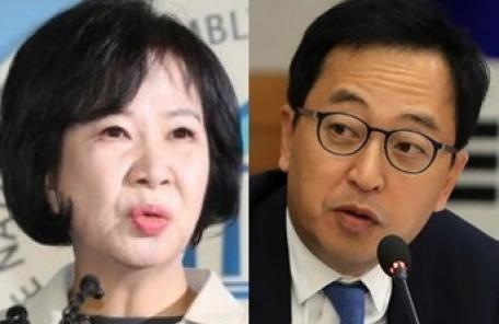 """금태섭에 """"이해관계 있는데 정책추진, 당황""""…손혜원 발끈"""