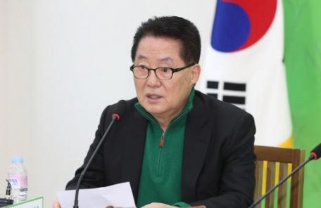 """박지원 """"손혜원, 언급하기 싫다…배신이 아니라 상황이 바뀐 것"""""""