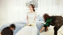 비와 결혼 김태희, 웨딩드레스 사진 포착…여신 비주얼