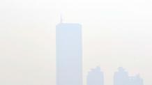 [헤럴드포토] '초미세먼지 자욱 숨은 63빌딩 찾기'