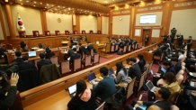 박대통령 대리인단은 헌법재판소 위? 헌재서 고성 난동