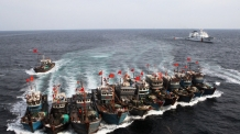 불법조업 중국어선에 공용화기 사용 확대