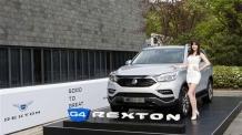 쌍용차 G4 렉스턴 2만대 판매목표…모하비보다 5000대 더 판다