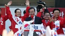 """차남 결혼식 불참 홍준표 """"미안하다…손주는 5명 낳아라"""""""