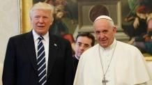 교황, 트럼프에 '기후변화협약 실천' 촉구 메시지