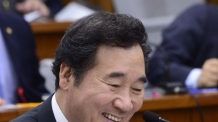 [헤럴드포토] 미소짓는 이낙연 총리 후보자