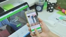 손 안의 은행 스마트폰뱅킹, 인터넷뱅킹의 61% 차지