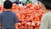[헤럴드포토] '거뭄과 폭염…양파가격 급등'