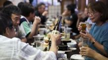 日 찜통더위 여파, 맥주 판매량 '껑충'
