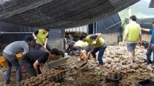 LH, 폭우 피해 충북지역 수해복구 현장 긴급 지원