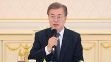 文대통령, 美상원 접견…대북정책 韓美 공조 논의