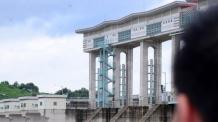 [헤럴드포토] '군남댐,  임진강 물 방류'