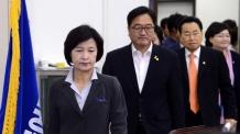 """與 """"김명수 가결, 협치의 위대한 승리…개혁세력과 협치"""""""