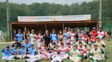 코스닥협회, 서울도신초등학교와 여강중학교 야구부에 후원금 1000만원 전달