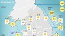 [날씨&라이프]태풍 '란', 오후부터 제주 영향…전국 대체로 맑아