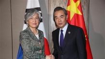 강경화 내일 첫 방중…왕이 中외교부장과 22일 회담