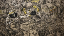 [지상갤러리] 갤러리바톤, 배윤환 개인전 '숨 쉬는 섬'