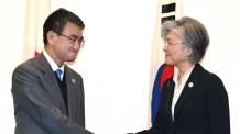 康 장관, 19일 日외무상과 회담…아베 총리 예방 추진 중(종합)