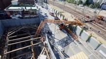 2015년 크레인 전철 붕괴사고…현장소장 등 억대 배상