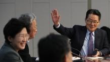 """박지원 """"국민의당 통합반대파 신당명 민주평화당..당색은 내일 정해"""""""