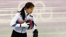 [올림픽] 쇼트트랙 김아랑, 노란 리본 눈길…일베는 IOC에 신고