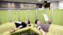 <1단>삼성생명 헌혈증 1천매 기부