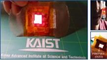 (온 1200)반창고처럼 붙이면 상처치료 OK…OLED 웨어러블 광 치료패치 개발