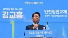 김교흥 전 국회 사무총장 인천시장 출마 선언