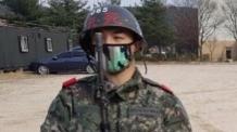 빅뱅 태양, 훈련소 사진 공개 '늠름'