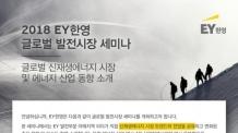 EY한영, '글로벌 발전시장' 세미나 개최
