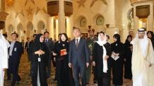 문 대통령, UAE 모하메드 아부다비 왕세제와 정상회담