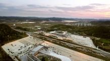 대보건설, 서해안고속도로 매송휴게소 완공