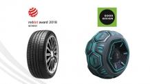 넥센타이어, 글로벌 디자인 어워드에서 잇따른 본상 수상