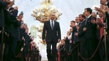 푸틴 대통령, 고속철 타고 중국 간다